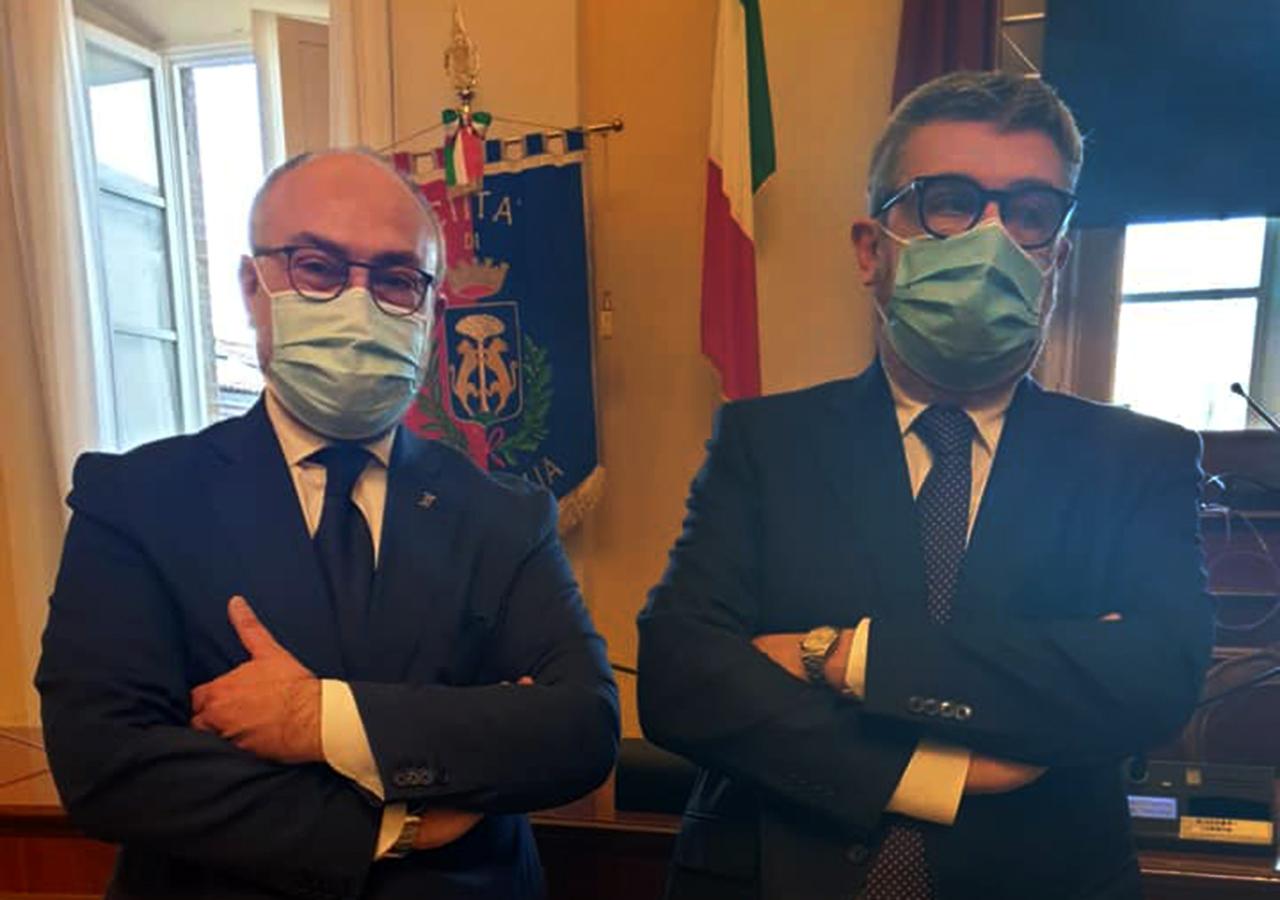 Massimo Bello e Massimo Olivetti, bandiere a mezz'asta, agguato, congo