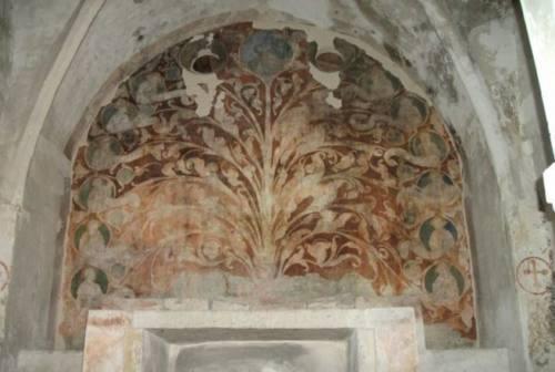 Fabriano, lavori in corso all'oratorio dei Beati Becchetti