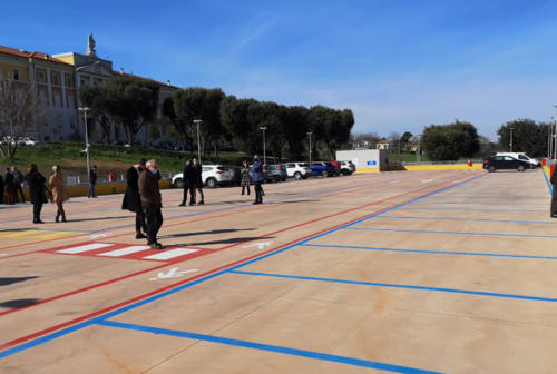 Via Cellini, inaugurato a Senigallia il nuovo parcheggio per l'ospedale