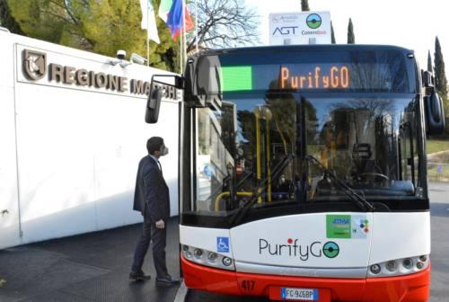 Sistema cattura smog sui bus: al via progetto pilota ad Ancona e Jesi