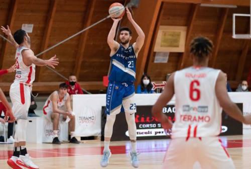 Basket, Ristopro Fabriano: vittoria a Giulianova e pass per le finali di Coppa Italia