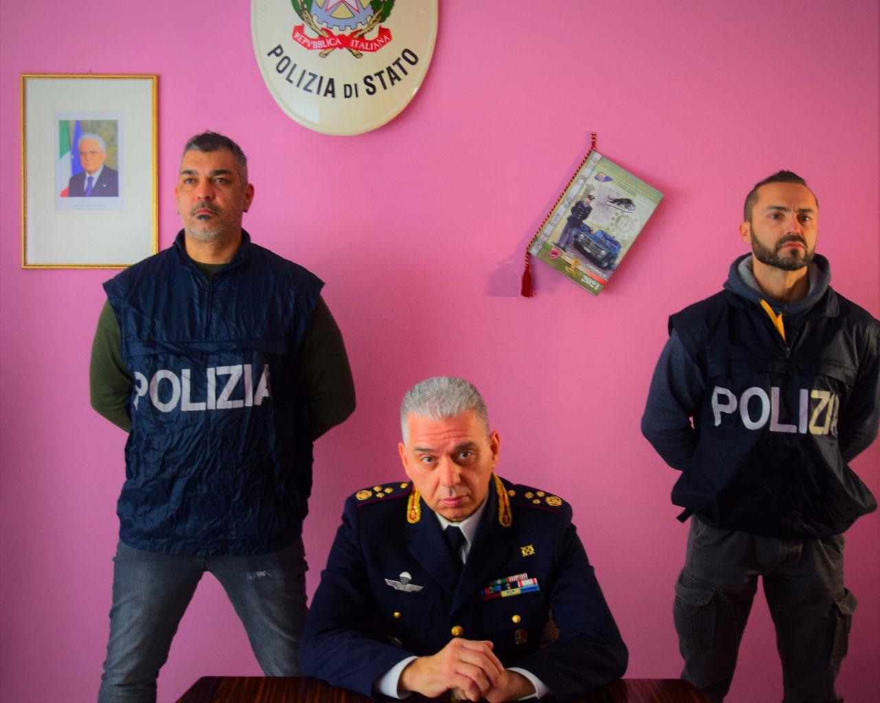 Carlo Pinto, capo della Squadra Mobile di Ancona