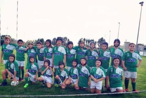 Rugby Jesi '70, la passione di Filippo Giacani e dei leoncini dell'Under 10
