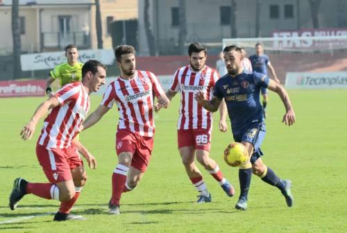 Calcio, la Vis cade in casa contro il Perugia