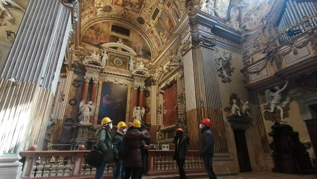 Sopralluogo congiunto nella chiesa di San Pietro in Valle