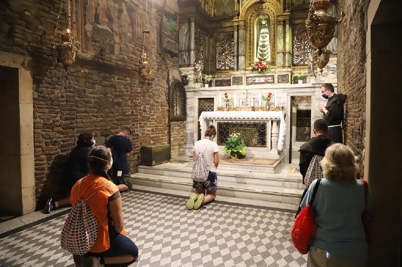 La Santa Casa (foto Diletta D'Agostini per il santuario pontificio)