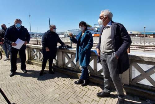 StrategicAncona, il Sindaco Mancinelli verifica i lavori in Via XXIX Settembre
