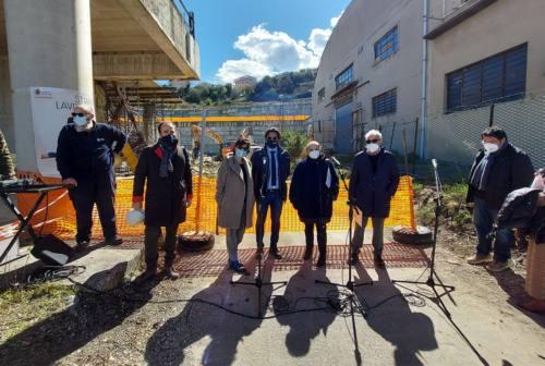 Ancona, il sindaco Mancinelli inaugura il cantiere Verrocchio: «Sarà realtà ben prima del 2025»