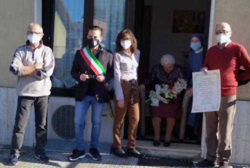 Maiolati Spontini festeggia i 100 anni di Carola Gianfelici