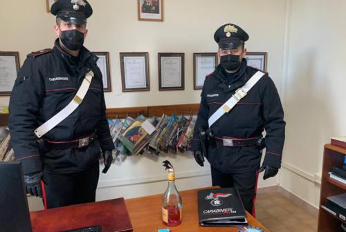 Colli al Metauro, bomba molotov sotto l'auto della sorella. Arrestato dai Carabinieri