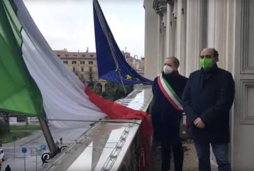Ancona ricorda le vittime del Covid