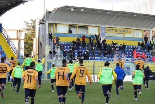 Calcio Serie C, la Fermana continua a stupire: superato il Cesena grazie alla doppietta di D'Anna