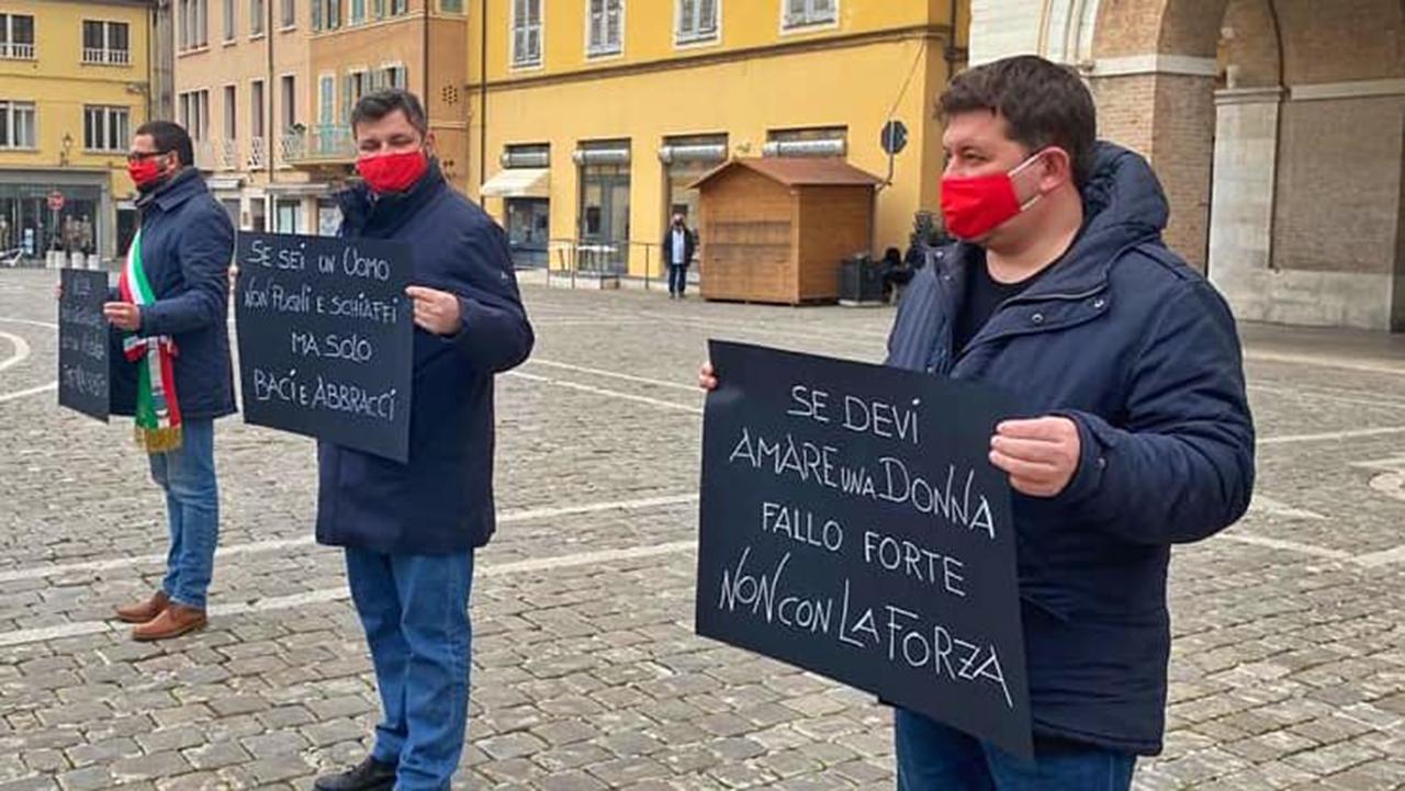 FlashMob contro al violenza sulle donne