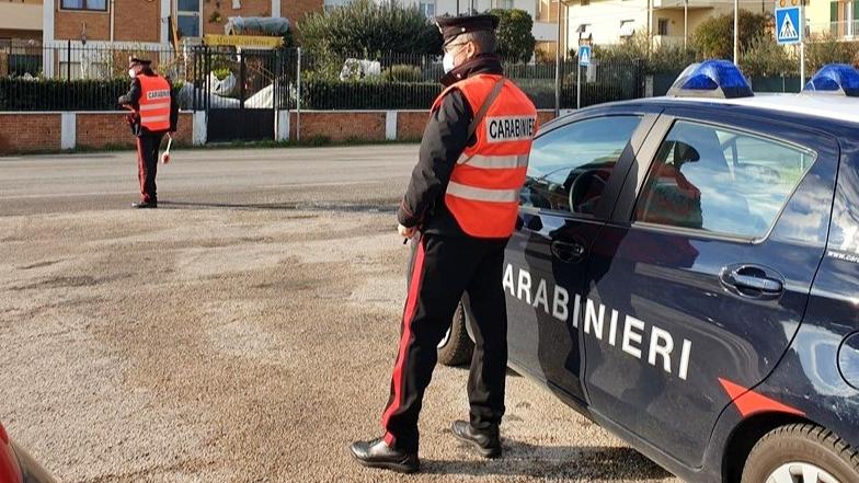 I controlli dei carabinieri a Senigallia