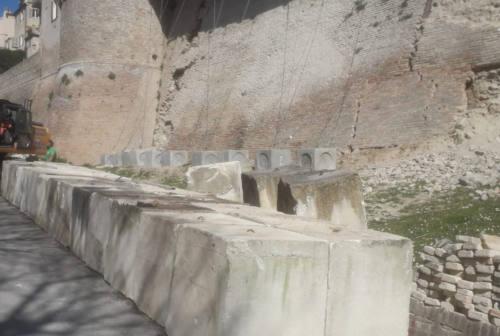 Corinaldo, partono i lavori di messa in sicurezza della cinta muraria