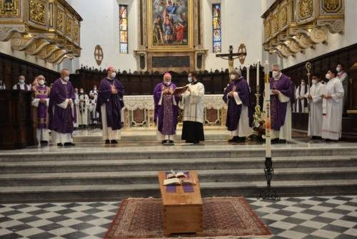 L'abbraccio di Fabriano e di tutta la Chiesa a don Aldo