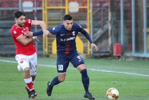 Calcio LegaPro, la Samb strappa un ottimo pareggio a Perugia e rialza la testa