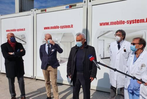 Terza ondata pandemia, a Torrette in settimana 18 nuovi letti di intensiva e semi intensiva