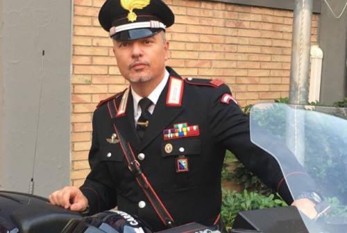 Montemarciano, il sindaco ringrazia il comandante dei carabinieri Marzano per il suo gesto coraggioso