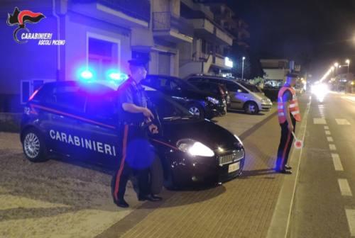 Ascoli, controlli dei carabinieri su 100 locali e 500 persone. Elevate 20 sanzioni
