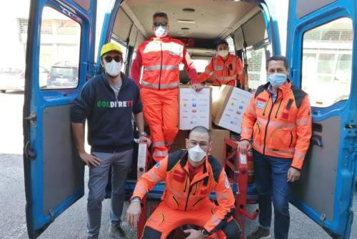 Ancona, Coldiretti e Croce Gialla a sostegno di 15 famiglie bisognose con i pacchi alimentari