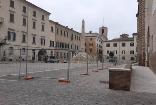 Jesi, la fontana dei Leoni si muove: cantiere al via