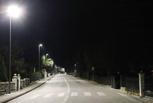 Dea (Gruppo Astea) rinnova gli impianti di pubblica illuminazione ad Agugliano e Polverigi