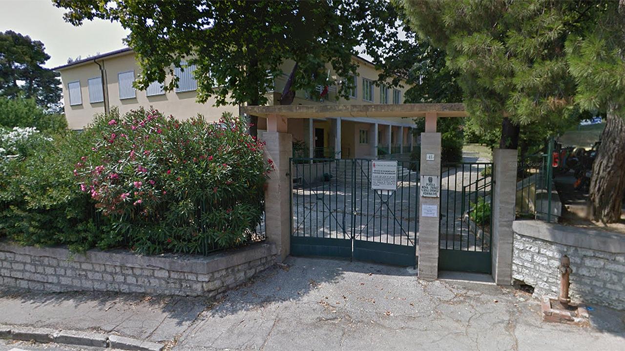 La scuola secondaria di primo grado Guido degli Sforza dell'istituto comprensivo Corinaldo