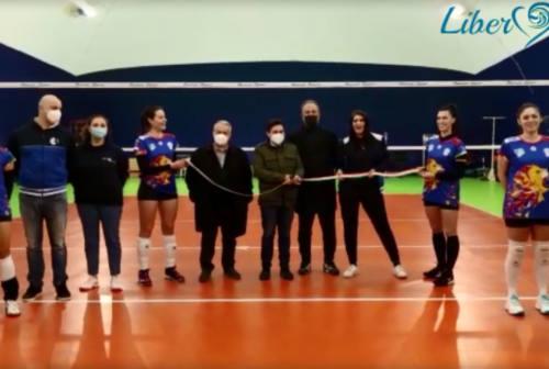Ascoli, una nuova casa per la Libero Volley: inaugurato il nuovo impianto sportivo di Pennile di Sotto