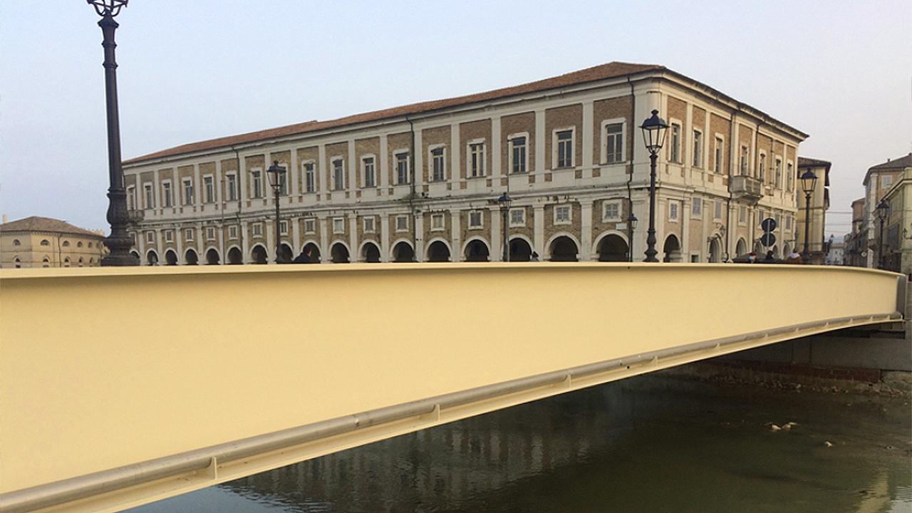 Senigallia, il nuovo ponte II Giugno che verrà intitolato agli angeli dell'8 dicembre 2018