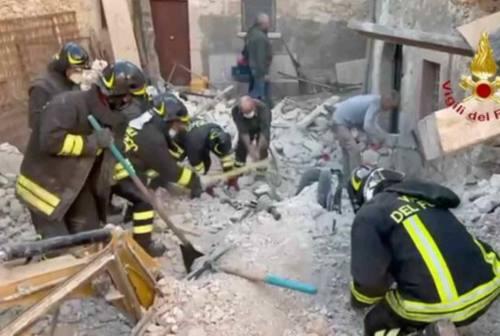 Crollo fabbricato a L'Aquila con due morti: indagati due ascolani
