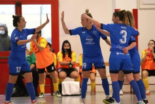 Futsal Femminile, il Città di Falconara rimonta e si impone a Fiano Romano