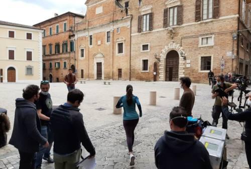 Jesi, Fileni sceglie il centro storico per il suo nuovo spot