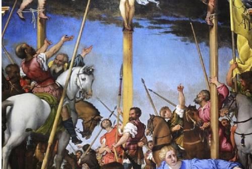 Monte San Giusto, un video inedito per raccontare La Crocifissione di Lorenzo Lotto