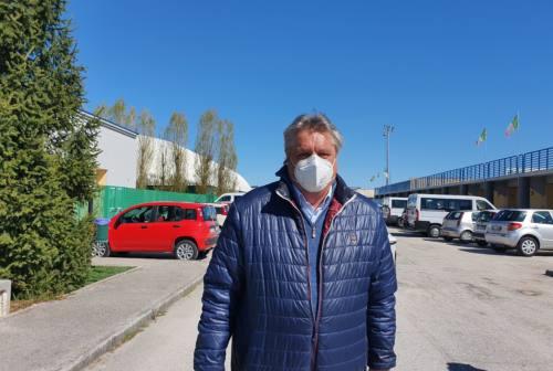Ancona, centro vaccinale al Palarossini: dal 15 maggio al via l'allestimento. Foresi: «Operativo in tre, quattro giorni»