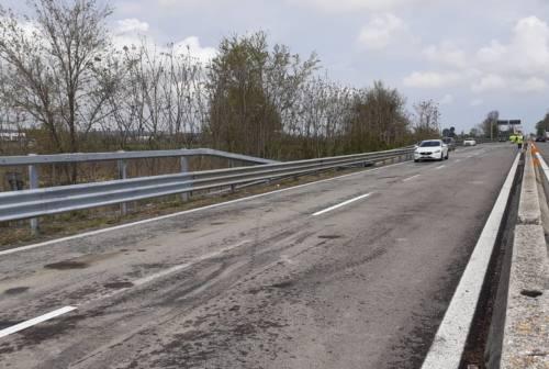 Jesi, riaperto il ponte di Jesi Est: strada statale 76 verso la normalità