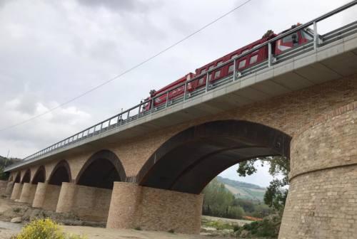 Valdaso, collaudato il nuovo ponte di Rubbianello. Si attende l'apertura