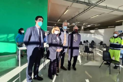 Nuovo centro vaccinale a Civitanova, il sindaco: «Dopo il Covid Hospital, un'altra struttura fondamentale»