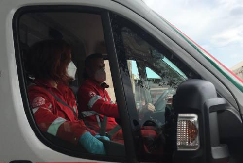 Scontro frontale a Senigallia, tre persone all'ospedale
