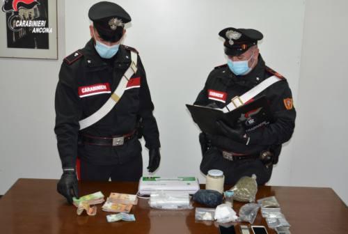 Sorpreso a spacciare cocaina a Loreto: arrestato 38enne di Montelupone