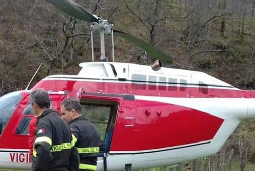 Piobbico, escursionista finisce in un canalone sul Nerone: soccorso dai Vigili del Fuoco