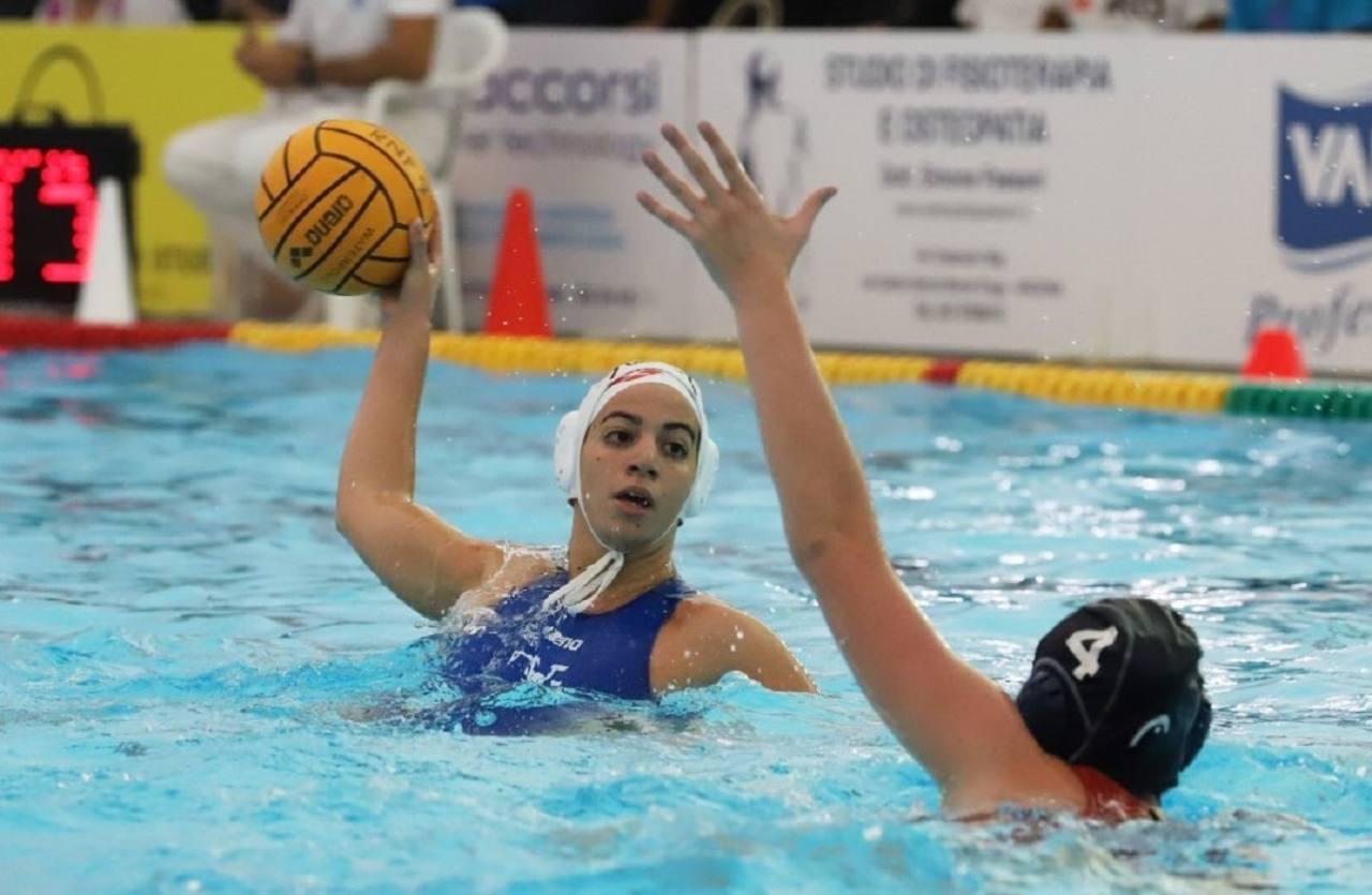 Elisa Quattrini in azione