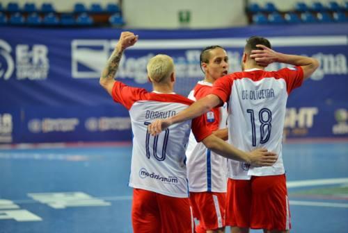 Futsal, l'Italservice Pesaro vince la Coppa Italia nel segno di Super Sayan Borruto