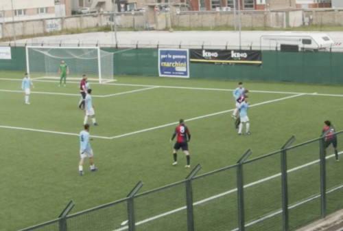 Calcio Eccellenza, la Vigor Senigallia si fa riacciuffare in extremis: col Gallo finisce in parità