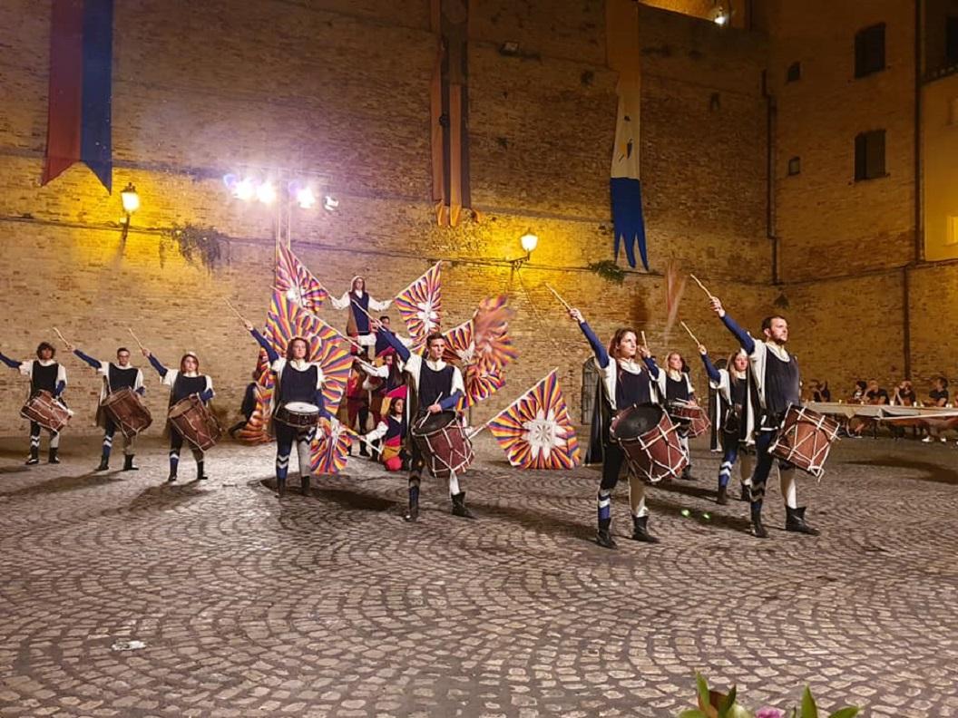 Uno scatto delle feste medievali dell'anno scorso