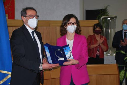 Ministro Gelmini a confronto anche con gli amministratori di Ascoli e San Benedetto