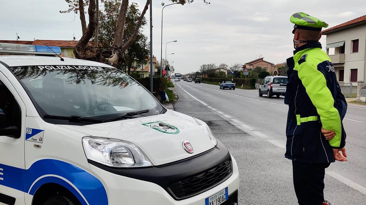 La Polizia locale di Fano