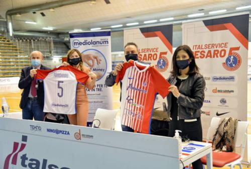 Futsal, per l'Italservice Pesaro solo buone notizie: Mediolanum nuovo sponsor e il gruppo si allena