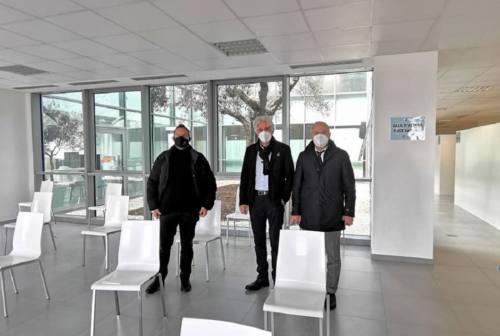 Macerata, pronto il nuovo centro vaccinale. Domani l'inaugurazione con il generale Figliuolo