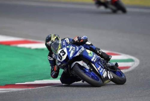 Moto, anche un po' di Fano nella Supersport 300 della Superbike: brilla Marco Gaggi